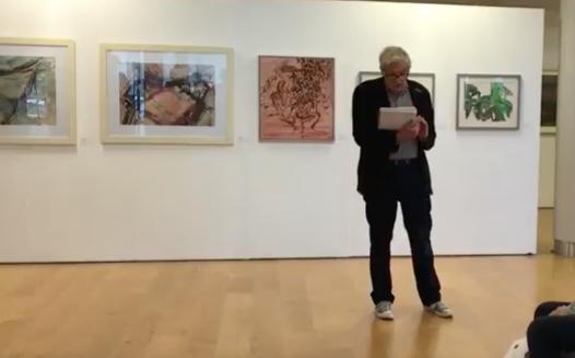 Artist Mark Pulsford opens exhibition celebration Harlow artist's work