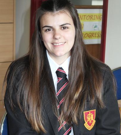 St Mark's pupil Tegan receives prestigious Diana Award