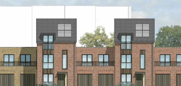 Permission given for new homes at Northbrooks House site