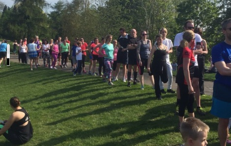 Happy Sixth Birthday to Harlow parkrun