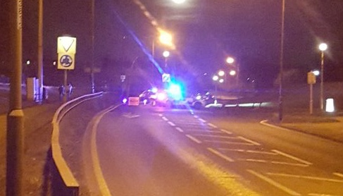 Woman receives serious head injury after road traffic incident on Southern Way