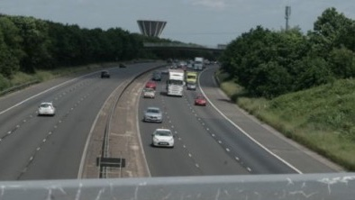 Man fined for driving on hard shoulder on M11 near Harlow