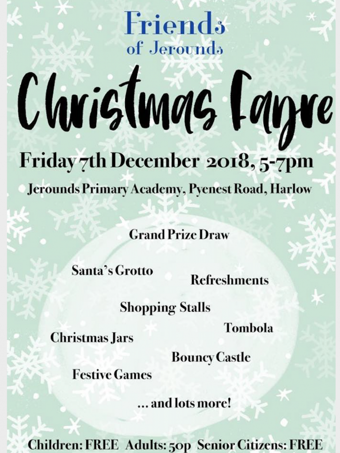 Friends of Jerounds Christmas Fayre