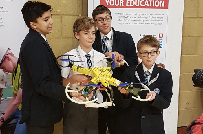 Passmores fly high in Quadcopter challenge