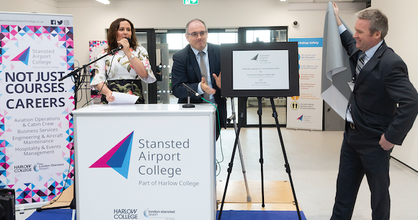 Harlow students to benefit as Stansted College opens