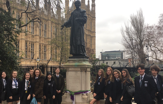 Passmores Academy students visit the House of Commons