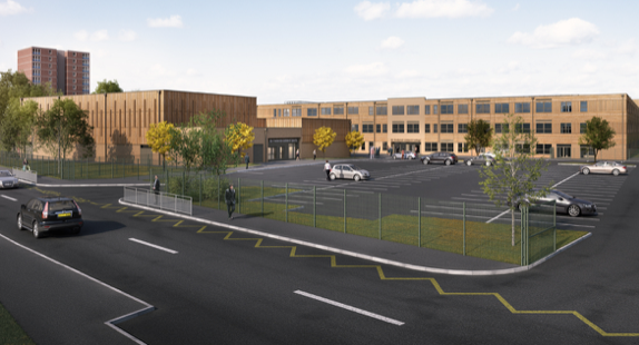 Company secures £29 million contract to build new school on old Passmores site
