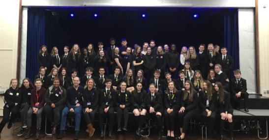 Stewards Academy host Hertford College showcase on challenging issues