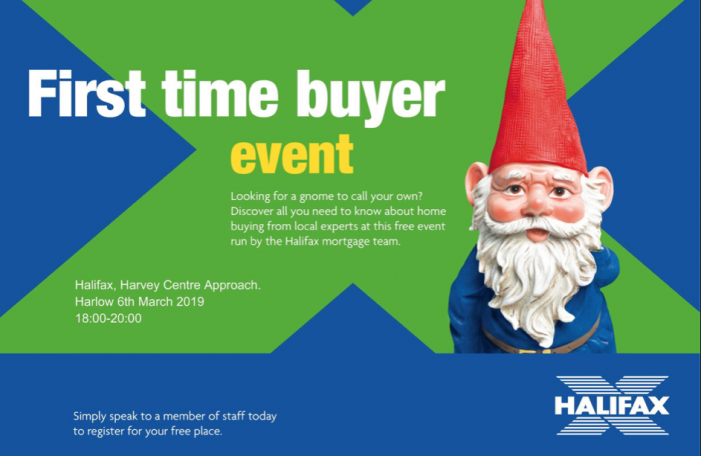 First time buyer event at the Harvey Centre