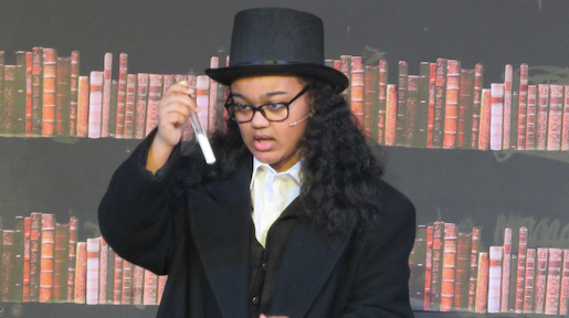 Passmores Academy perform 'The Strange Case of Jekyll and Hyde.'