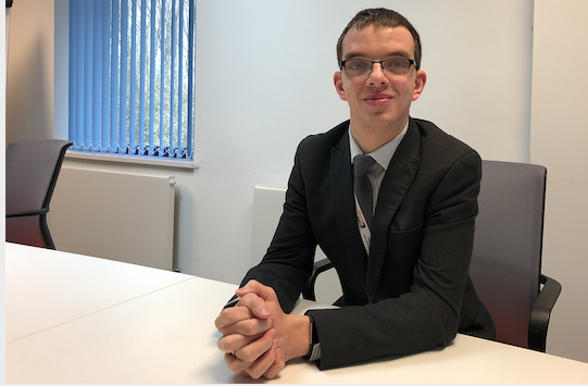 Apprentice Adam praises HTS for giving him his big break
