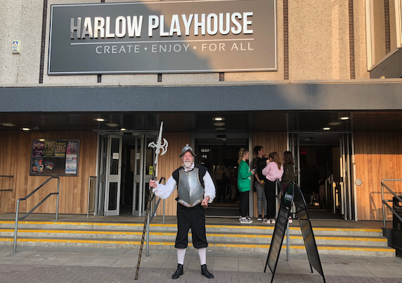Don Quixote is set to tilt at windmills at Harlow Playhouse
