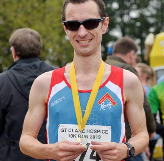 Athletics: Westley smashes personal half marathon best at Great Bentley half marathon