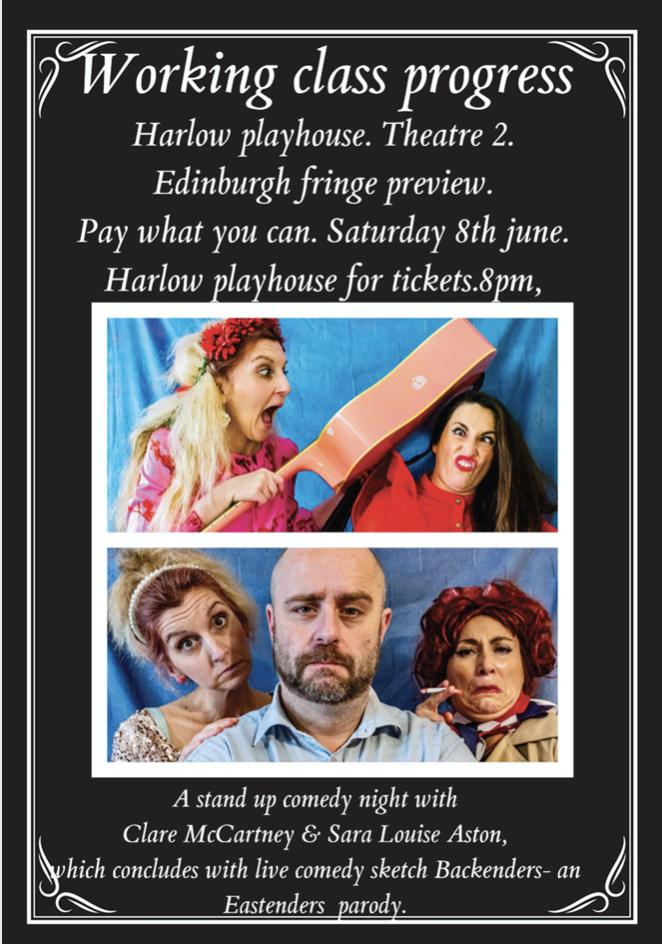 Harlow comedian to showcase Edinburgh Fringe show