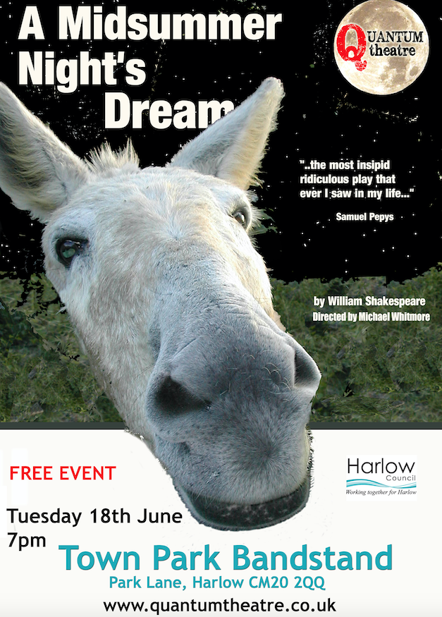 Harlow Town Park to host A Midsummer Nights Dream