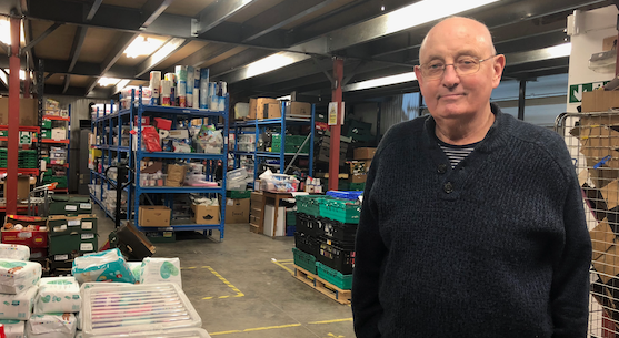 Tributes pour in as founder of Harlow Foodbank Gary Knott passes away