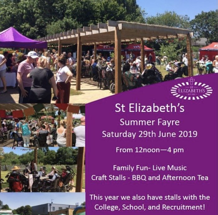 St Elizabeth's to host Summer Fayre