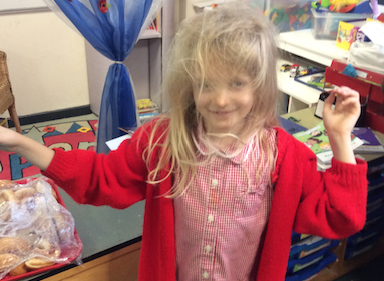 Little Parndon children don science lab coats