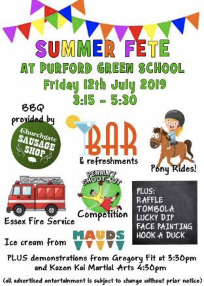 Purford Green School Summer Fete