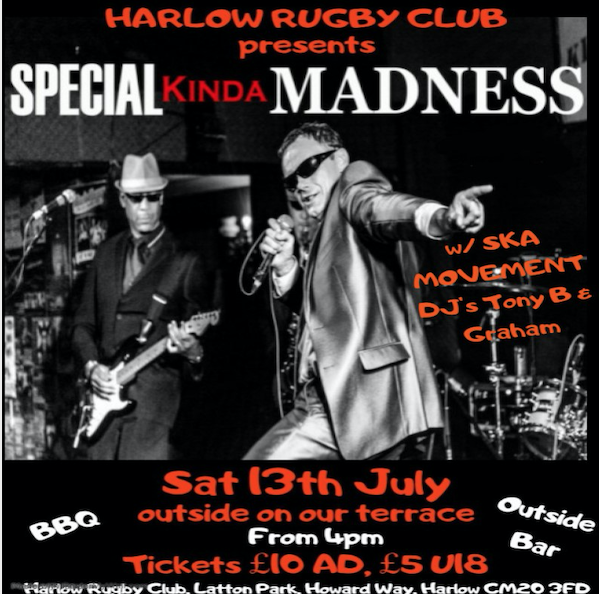 Latton Park: Special Kinda Madness at Harlow Rugby Club