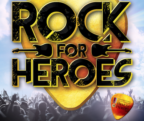 Rock for Heroes set to return to the Harlow Playhouse