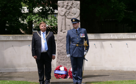 Bond between North Weald Airfield and Royal Norwegian Airforce remembered