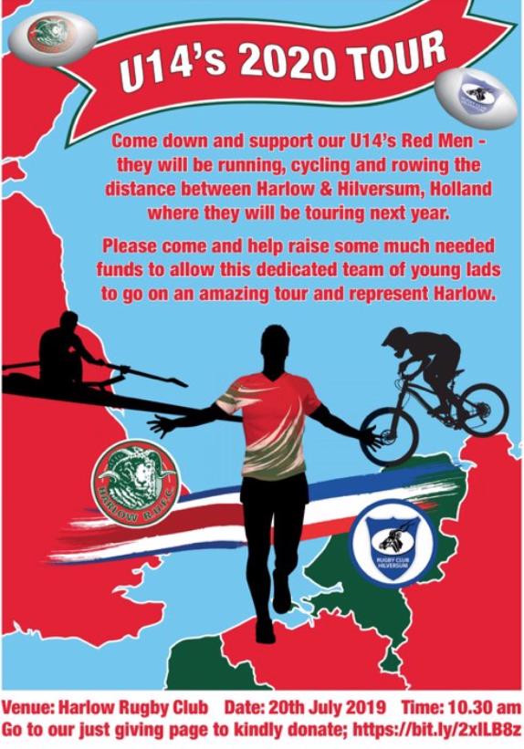 Rugby: Come and support Harlow Under-14 as they fundraise for tour
