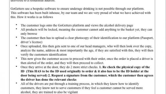 Public Notice: Application for a Premises Licence