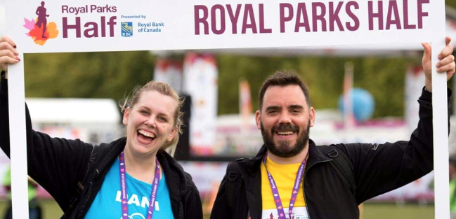 Experience London on foot this autumn at the Royal Parks Half Marathon for St Clare Hospice