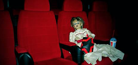 Annabelle the Doll Returns to The Harvey Centre