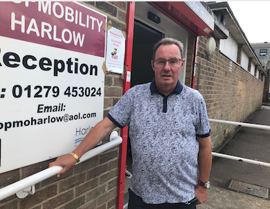Harlow Council bosses meet with under-threat Shopmobility