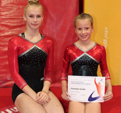 Harlow Gymnastics Club impress at East Region
