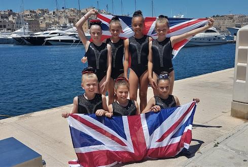 Harlow Gymnastics Club produce outstanding performance in Malta