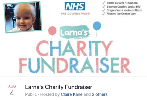 Charity Fundraiser for Larna