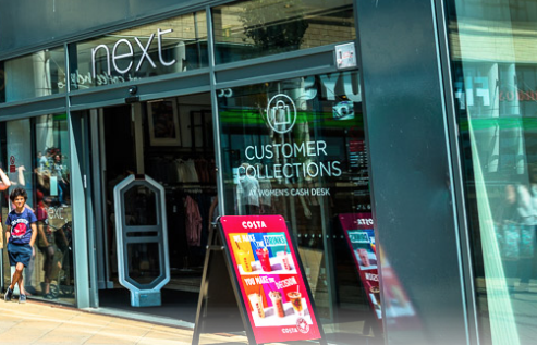 Next asked staff to work in closed stores despite Government's COVID-19 guidance