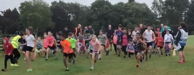 Harlow Junior park run celebrates third birthday