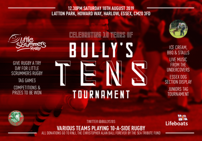 Bully's Ten Tournament: Charity rugby tournament in memory of much-loved player