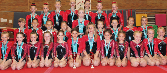 Gymnastics: Chloe-Ann strikes gold at Spiral Rocks