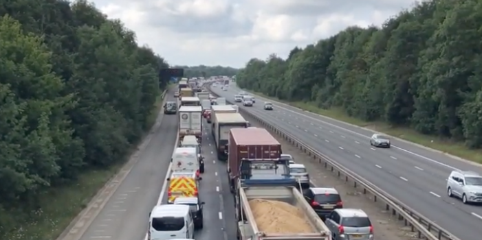 Police to be investigated after car crashes on M11 near Harlow