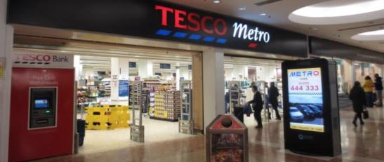 Tesco to cut staff from Tesco Metro