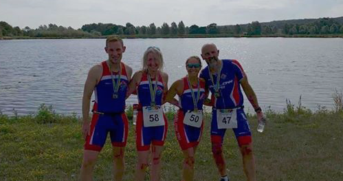 Athletics: Harlow's Triathletes conquer Triple Crown