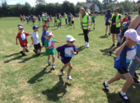 Latton Green Primary raises over £1,000 through Race for Life event
