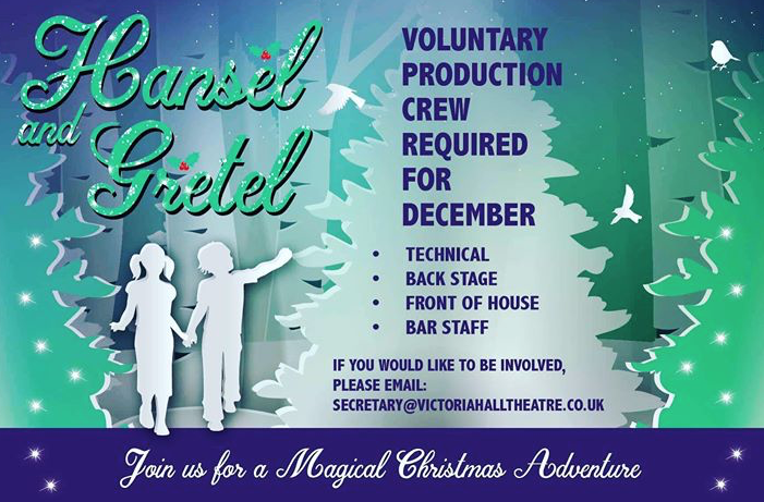 Volunteers needed for Christmas show