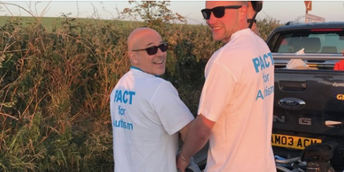 Harlow men set to go coast to coast for Pact For Autism