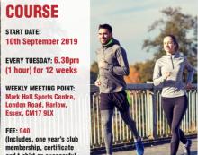 Harlow Running Club offer Novice Running Course