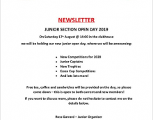 Canons Brook Golf Club to host Junior Section Open Day