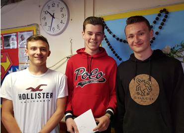 St Mark's West Essex Catholic School celebrate A Level