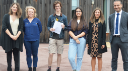 Epping St John's ceebrate best ever A-level and BTEC results