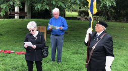 VJ Day commemorated in fitting ceremony at Harlow Town Park