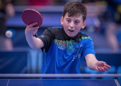 Table Tennis: All praise King Ralph